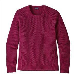 { Patagonia } NWT Cashmere/Wool Crew Sweater Sz M